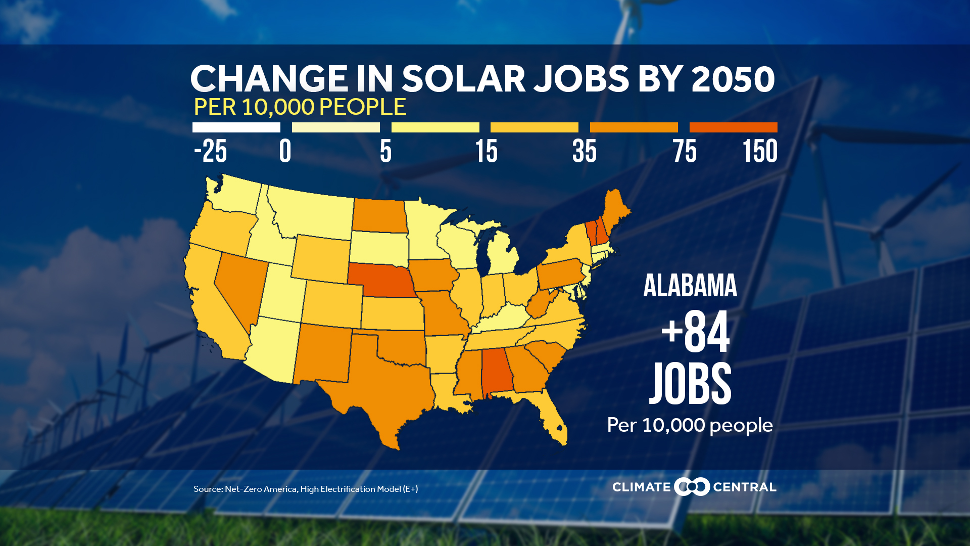 State Solar Jobs by 2050 - JPG with Title